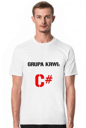 Koszulka: Grupa krwi light