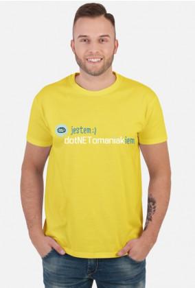 Koszulka: Jestem dotNETomaniakiem
