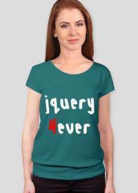 Koszulka: jQuery 4ever