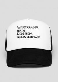 Czapka motto #1