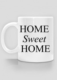"Kubek retro - ""Home sweet Home"""