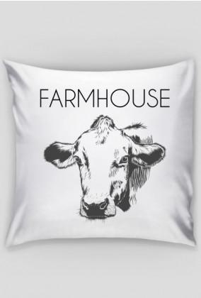 Poduszka rustykalna krowa - Farmhouse