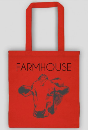 Torba rustykalna krowa - Farmhouse