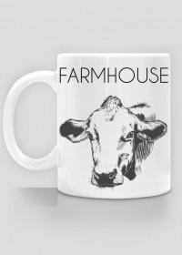 Kubek rustykalny krowa - Farmhouse