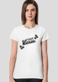 Koszulka damska jasna - Wszystko czego potrzebuje to kawa