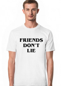 Friends don't lie Stranger Things koszulka męska