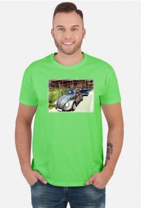 VW Beetle V2 - cartoon (men t-shirt)