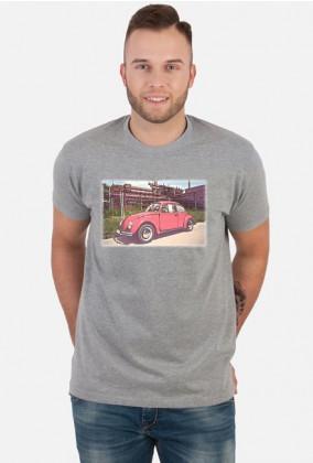 VW Beetle V4 - cartoon (men t-shirt)