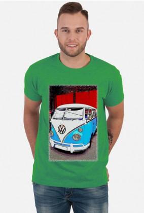 VW Bulli - cartoon (men t-shirt) bi