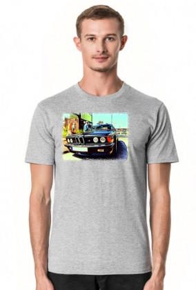 BMW E24 M635CSi - cartoon (men t-shirt)
