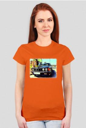 BMW E24 M635CSi - cartoon (women t-shirt)
