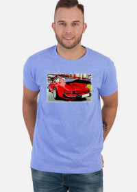 Porsche Carrera - cartoon (men t-shirt)