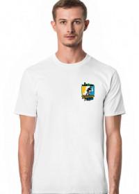 Rowerem Po Śląsku - koszulka męska biała - KM-B-G2
