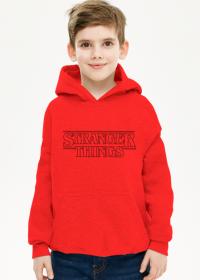 Stranger Things bluza z kapturem dziecięca