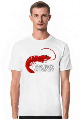 T-Shirt  Szopen Biały