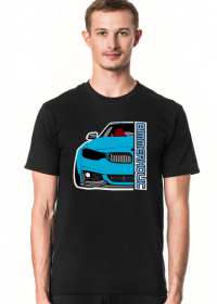 Bimmerholic M4 widebody - Blue (men t-shirt)