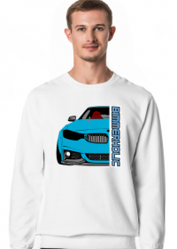 Bimmerholic M4 widebody - Blue (men sweatshirt)