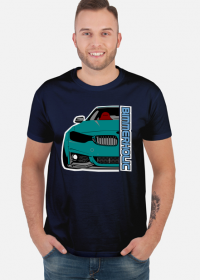 Bimmerholic M4 widebody - Dark Green (men t-shirt)