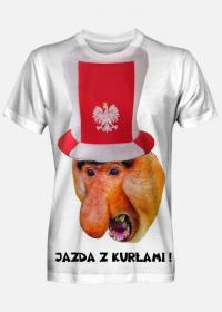 Jazda z kurłami t-shirt