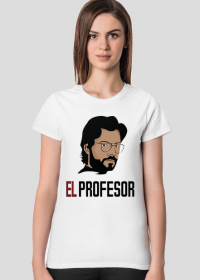 El Profesor Dom z Papieru koszulka damska