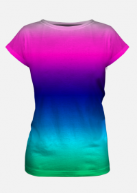 Kolorowe koszulki damskie 5