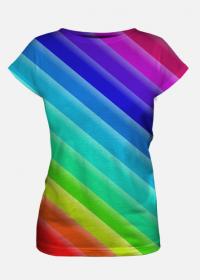 Kolorowe koszulki damskie 7