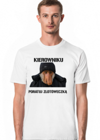 T-shirt kierownika