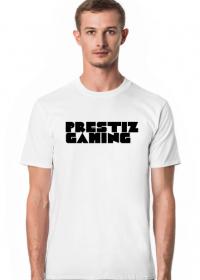 Koszulka PRESTIZGAMING Biała