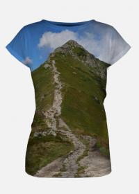 """Koszulka full print """"POD GÓRĘ"""""""
