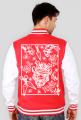 bluza baseballówka japonia samurai kanji streetwear