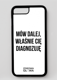 DIAGNOZA - case iPhone 7 Plus, iPhone 8 Plus