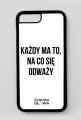 ODWAGA - case iPhone 7 Plus, iPhone 8 Plus