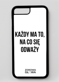 ODWAGA - case iPhone 7 Plus, iPhone 8 Plus