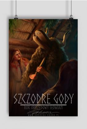 SZCZODRE GODY Plakat A2