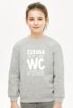 Szkoła jak WC (bluza dziewczęca klasyczna) jg