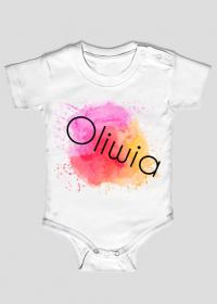 Body dziecięce dla dziewczynek: Oliwia.
