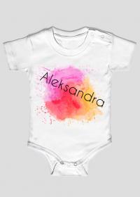Body dziecięce dla dziewczynek: Aleksandra.