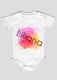 Body dziecięce dla dziewczynek: Liliana.