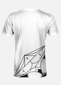 Koszulka męska - rozeta
