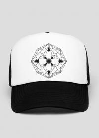 Rozeta - czapka z daszkiem