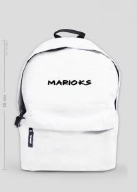 "Czarny Napis ""Marioks"" - Mały Plecak"