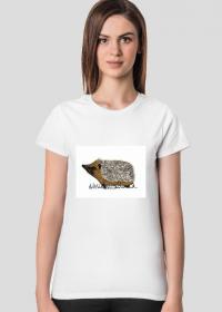 Jeż - koszulka damska