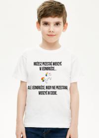 T-shirt dziecięcy, biały, Unicorns 5