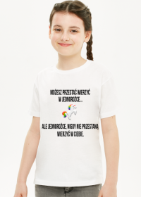 Koszulka dziecięca, biała, Unicorns 5