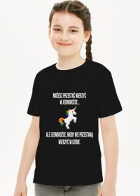Bluzka dziecięca,czarna, Unicorns 5