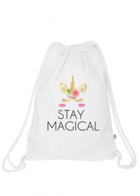 Plecak worek, biały, Unicorns 6