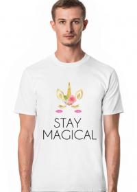 T-shirt, biały, Unicorns 6