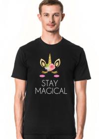 T-shirt, czarny, Unicorns 6