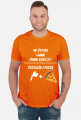 """Koszulka"""" W życiu lubię, dwie rzeczy- tatuaże i pizzę"""""""