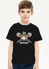 Czarna dziecięca koszulka